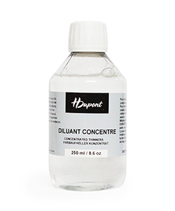 Concentrated Thinner for steam fixed silk paint 250ml
