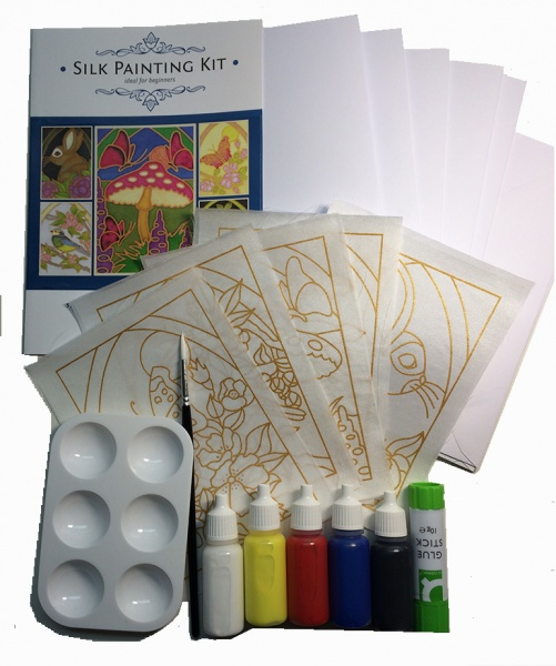 Silk Painting Card Making Kit - Forest Designs