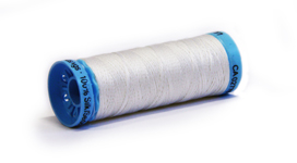 Gutermann 100% Silk Thread White 100m