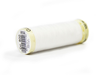 Gutermann Sew All Thread - Colour: Bright White 800
