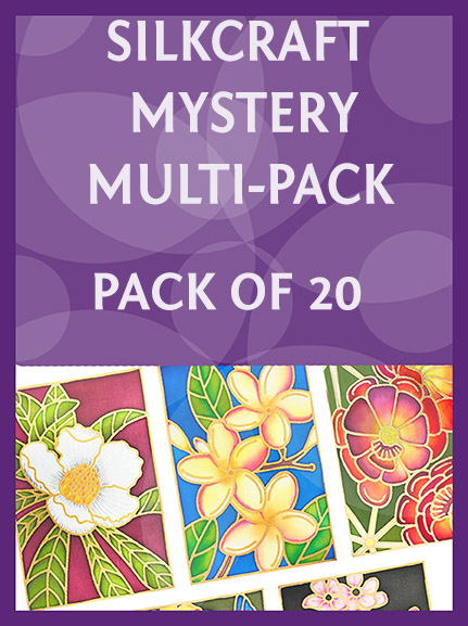Mystery Workshop pack of 20 gutta outlines