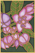 Sodoms Apple Flower Design Card