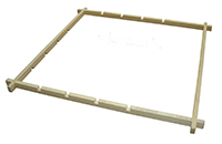 Adjustable Wooden Notch frame - choice of 2 sizes (Will be sent on 3-5days delivery service)