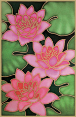 Pack of 5 Assorted Gutta Outlines - Waterlily Pack